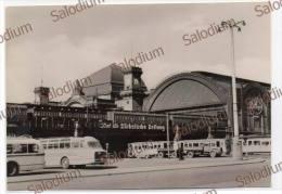 DRESDEN Central Station Train Bus Autobus Pullmann Camion - Dresden