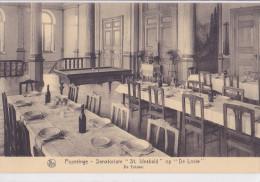 """POPERINGE : sanatorium """"St Idesbald"""" op """"De Lovie"""" - de eetzaal"""