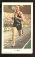 Chromo ( 4262 )  Chocolade  Chocolat  AIGLON -  Champion Olympique Gaston Reiff - Aiglon