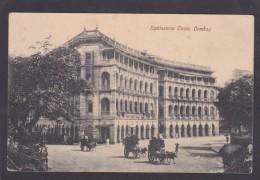 Antique Card, Elphinstone Circle, Bombay, Mumbai, Maharashtra, India, K6. - India