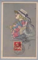 Motiv Künstlerkarte A.Zandrino #17-4 1918-05-31 Genf N.Türkei - Illustrateurs & Photographes
