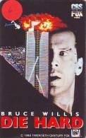 Telecarte Japon *  DIE HARD * BRUCE WILLIS * Telefonkarte Japan (6) Film - Cinema - Movie - Kino - Film