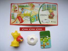 KINDER FF605 Angry Birds + Bpz - Monoblocs