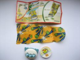 KINDER FF607 Angry Birds + Bpz - Monoblocs