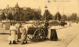 LIEGE - LIEGE - BELGIQUE - PEU COURANTE CPA ANIMEE - EDITEUR NELS. - Liège