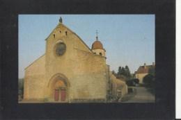 39 Cpm Gigny L Eglise Abbatiale - Otros Municipios