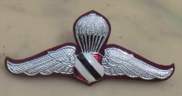 THAÏLANDE Brevet Parachutiste Paratroops Elite (No2) Insigne Blason émaillé - Airforce