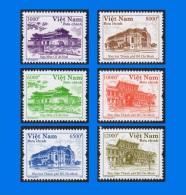 VN 2014-0011,  Vietnam Architecture (2nd Issue), Set (6V) MNH - Vietnam