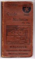 Guide Michelin Rouge - 1926 - Luxembourg - Pays Rhenans - Sud De La Hollande - 16 ème édition - Belgique - Michelin (guides)