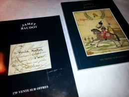 2 Catalogues De Timbres Sur Offres Chez Jamet Baudot ; 1996 Et 1999 Jetons Monnaie, Variétés - Catalogues For Auction Houses
