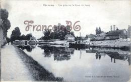 (18) Vierzon - Vue Prise Sur Le Canal Du Berry - 2 SCANS - Vierzon