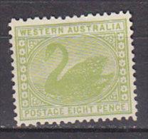 PGL CB464 - AUSTRALIE OCCIDENTALE WESTERN AUSTRALIA Yv N°75 * ANIMAUX ANIMALS - 1854-1912 Western Australia