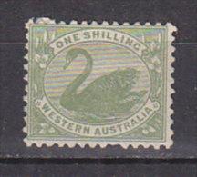 PGL CC032 - AUSTRALIE OCCIDENTALE WESTERN AUSTRALIA Yv N°81 * ANIMAUX ANIMALS - 1854-1912 Western Australia