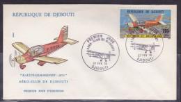 Djibouti - Lettre - Djibouti (1977-...)