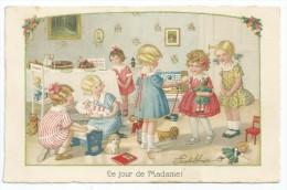 Cpa Bon Etat , PAULI  EBNER    Le Jour De Madame! - Ebner, Pauli