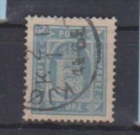 Danemark //   Timbre De Service  // N 6 B  //  4 Ore  Bleu // Oblitéré //  Côte 10 € - Fiscali