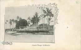 Grande Pirogue De Saint Maurice - Maurice