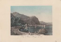COMO -  MENAGGIO NEL 1835 - Como