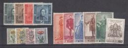 Nr 807/810, 814/822, 826 **, Cote = 92 € (X00346) - Belgique