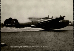 AVIATION - HYDRAVIONS - Boeing - Flugwesen