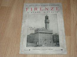 Firenze L'atene D'italia Le Cento Citta D'Italia Illustrate Italy Giornale Con Molte Immagini Pagina 18 - Altri