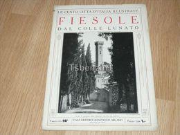 Fiesole Dal Colle Lunato Le Cento Citta D'Italia Illustrate Italy Giornale Con Molte Immagini Pagina 18 - Libros, Revistas, Cómics