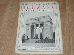 Bolzano Sentinella D'Italia Le Cento Citta D'Italia Illustrate Italy Giornale Con Molte Immagini Pagina 18 - Altri