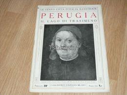 Perugia Il Lago Di Trasimeno Le Cento Citta D'Italia Illustrate Italy Giornale Con Molte Immagini Pagina 18 - Books, Magazines, Comics