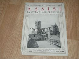 Assisi La Citta Di San Francesco Le Cento Citta D'Italia Illustrate Italy Giornale Con Molte Immagini Pagina 18 - Books, Magazines, Comics