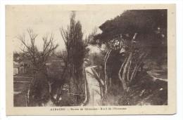 AUBAGNE, ROUTE GEMENOS, BORD DE L' HUVEAUNE - Bouches Du Rhône 13 - (Petite Déchirure Au Bas) - Aubagne