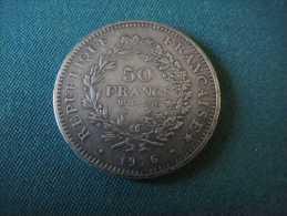 Faux -50 Francs Hercule -1976 - France