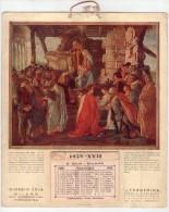 Giorgio Zoja Milano, Concessionario Forgenina. Calendario Pubblicitario 1939. - Calendari