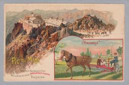 "Motiv Landwirtschaft Landwirtschaft ""l'Hirondelle"" Mähmaschine Litho - Tracteurs"