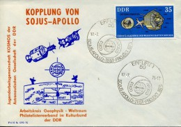ALLEMAGNE ORIENTALE DDR - 1975 LETTRE SOJUS/APOLLO - Europa