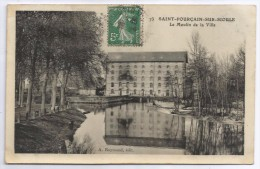 CPA Saint-Pourçain Sur Sioule - Le Moulin De La Ville - France