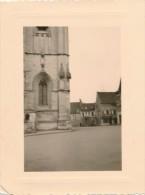 Lot De 2 Photographies Amateurs CLAMECY (58 Nièvre) Mars 1956 - Photos