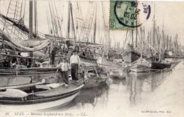 TUNISIE SFAX BATEAUX SCAPHANDRIERS GRECS - Tunisia
