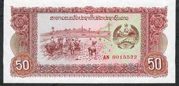 LAOS  P29   50  KIP   1979 #AN  UNC. - Laos