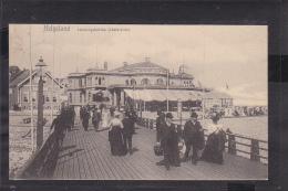 E1 /    Helgoland Landungsbrücke 1907 - Helgoland
