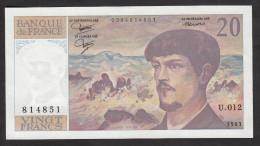 20 Francs Debussy  - 1983 - Fayette 66/4-12 - Etat Neuf - 1962-1997 ''Francs''