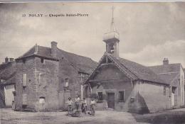 Cpa-21-nolay-animée- Chapelle St Pierre-edi J.cocqueugniot N°13 - Altri Comuni