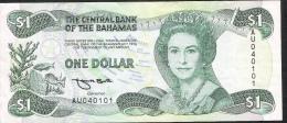 BAHAMAS   P51   1   DOLLAR 1974 Signature 3  VF-XF No P.h. ! - Bahamas