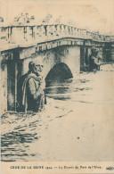 Crue De La Seine. Le Zouave Du Pont De L´Alma - Überschwemmung 1910