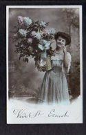 Prénom -  St Ou Saint Ernest  / Fleurs,femme / Vive St. - Prénoms