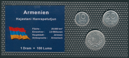 Armenien Minisatz Mit 10,20 Dran + 100 Luma 1994 In Bilster, UNC. - Arménie