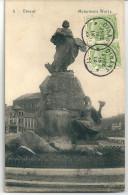 """Cpa Dinant - Monument """" Wurtz """"  (Wiertz) -  Peu Courant. - Dinant"""