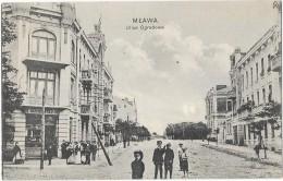 MLAWA (Pologne) Rue Animation - Pologne