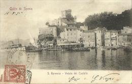 San Terenzo(La Spezia)-Veduta Del Castello-1902 - La Spezia