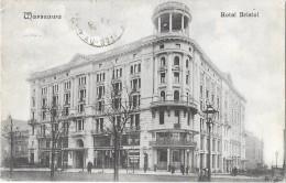 VARSOVIE (Pologne) Façade De L'Hotel Bristol - Pologne