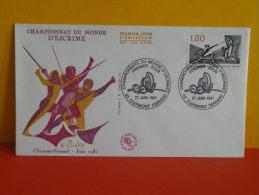 FDC - Championnat Du Monde D'escrime - 63 Clermont Ferrand - 27.6.1981 - 1er Jour - Coté 2,20 € - FDC